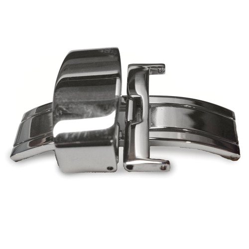 26mm Stainless Steel Deployment Clasp for Leather Strap 26 Inch FTL138-26