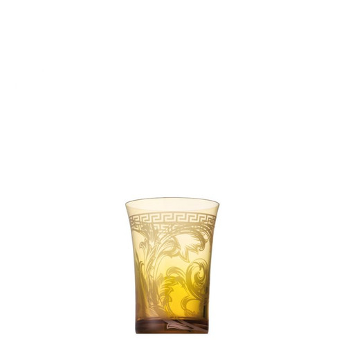Versace Arabesque Longdrink Large 15 ounce Amber