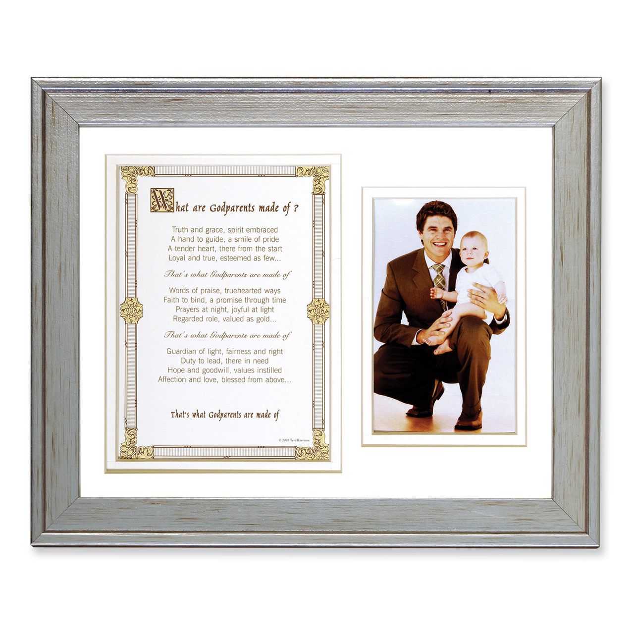 What Are Godparents Made of Poem and 8 x 10 Inch Picture Frame ...