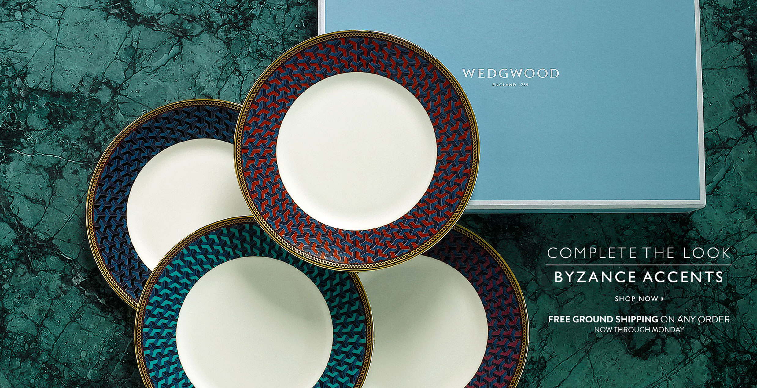 Shop for Wedgwood Dinnerware and Home Decor on Sale Now