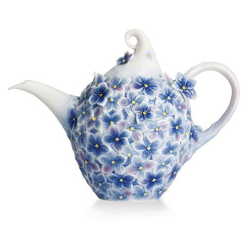 Franz Porcelain Floral Bouquet Teapot Fz02278 Homebello
