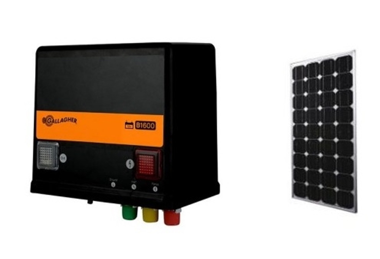 Gallagher B1600 Solar Charger