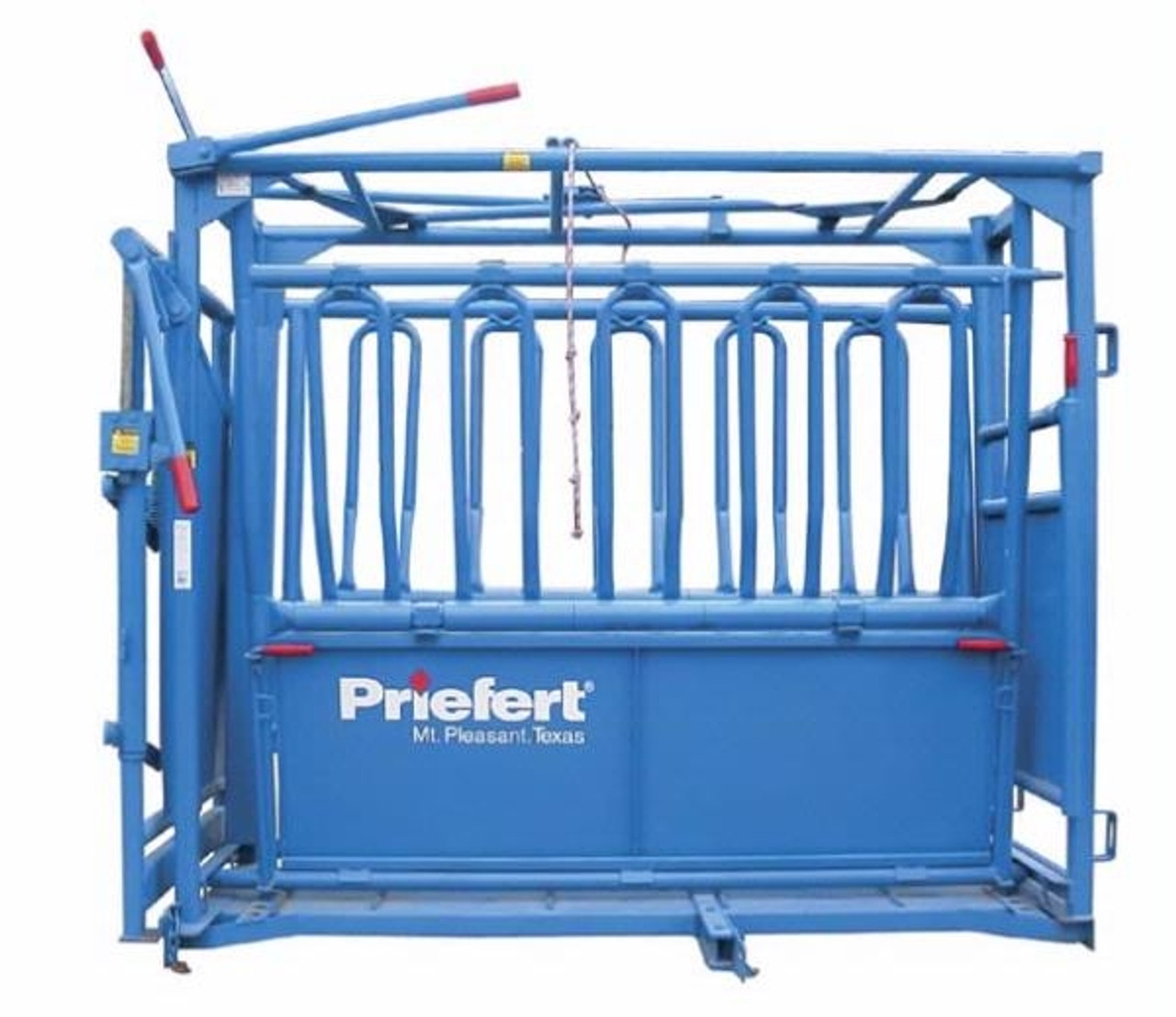 """Priefert """"The Rancher"""" Squeeze Chute"""