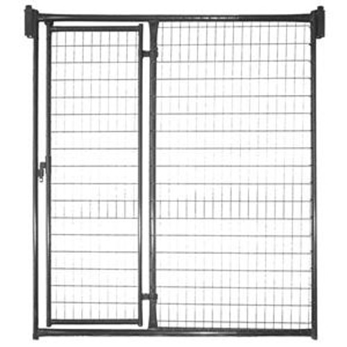 5' Priefert Kennel Front