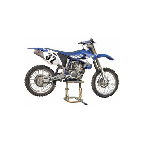 how to make a dirt bike stand