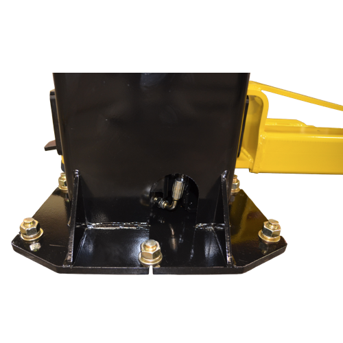 Rear access to Hydraulic Cylinder Fitting