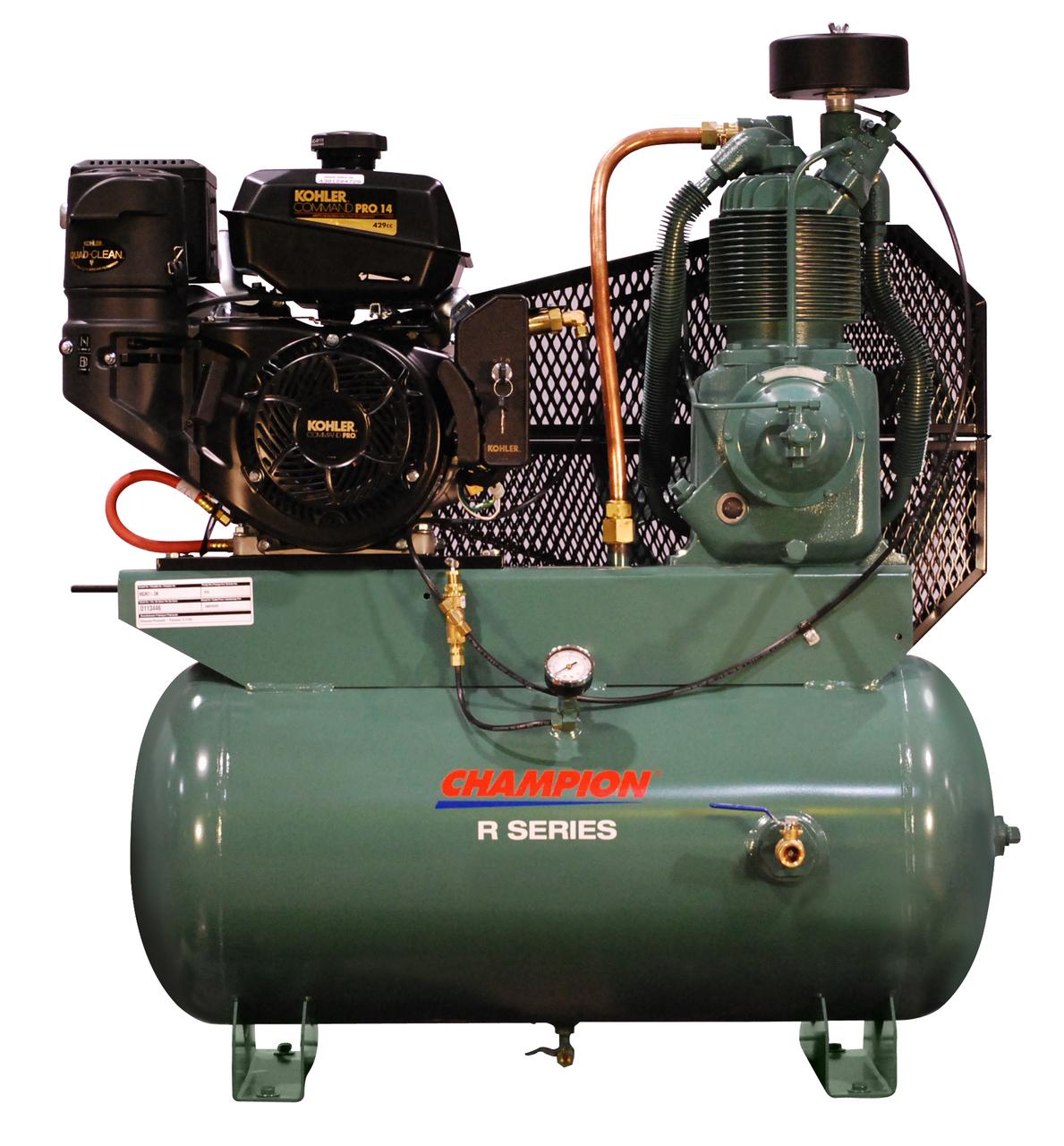 Champion Gar Engine Service Truck Compressor