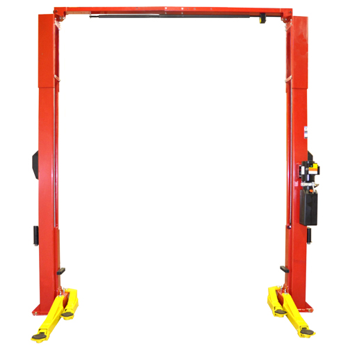 Weaver Lift W-Pro10 with arms swung back for Asymmetric Loading.
