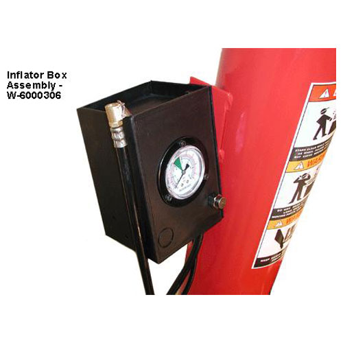 W-894XS Air Tank Column with Tire Pressure Inflation Gauge
