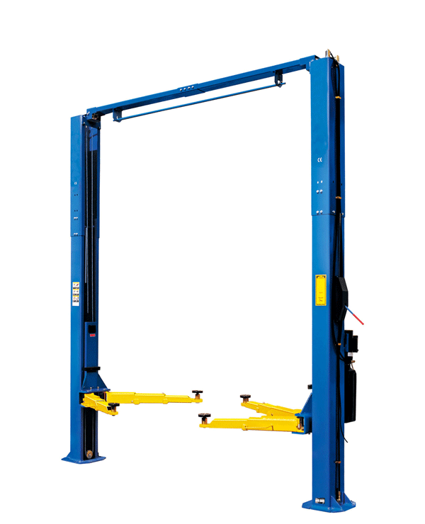 W-9SD Car Lift with Optional Blue