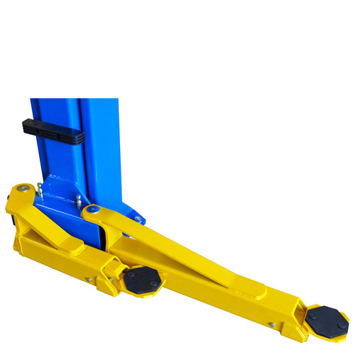 Weaver® W-Pro10 Blue - Swing Arms Swung Back for Easy Asymmetric Loading
