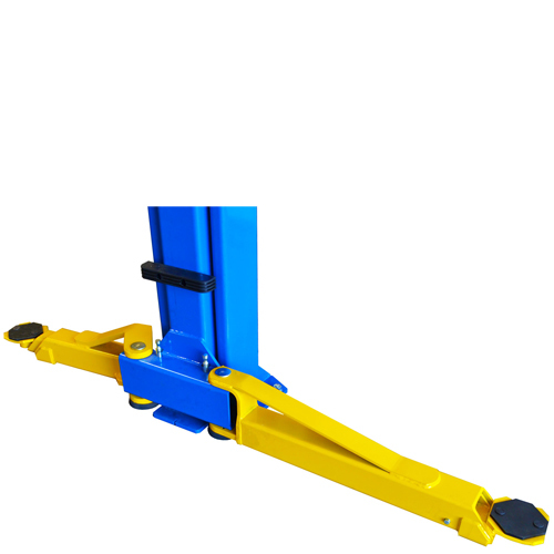 Weaver® W-Pro10 Blue - With Arms Spread Open for Symmetric Loading.