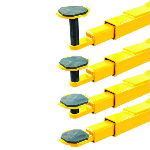 """Weaver Lift W-Pro10 Lifting Pads with Included Height Adapters starting with a low pad height of only 3 5/8""""."""