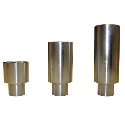 """Various Height Adapters Included (4 each) 1/1/2"""", 3"""" and 6"""""""