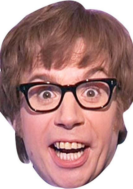 Austin Powers Celebrity Face Mask Celebrity Facemasks