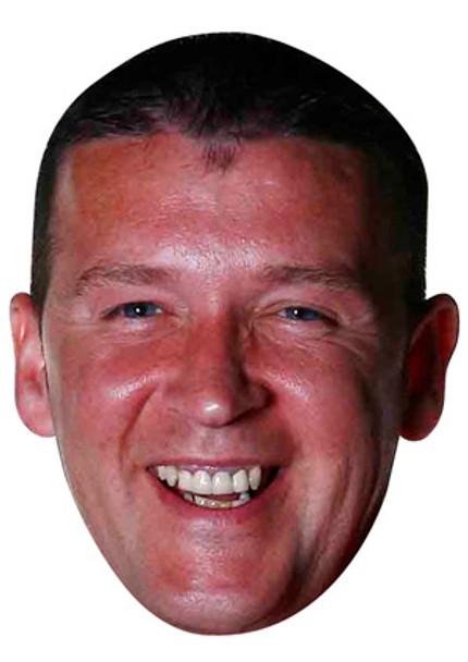 Colin Osbourne Darts Celebrity Face Mask