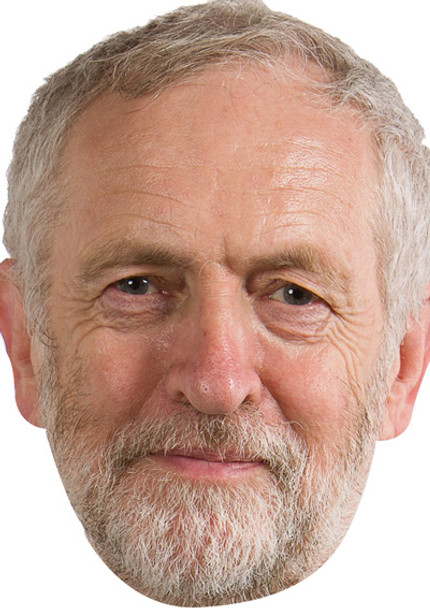 Jeremy Corbyn Politicians 2018 Celebrity Face Mask