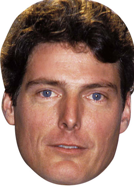 Christopher Reeve Celebrity Face Mask
