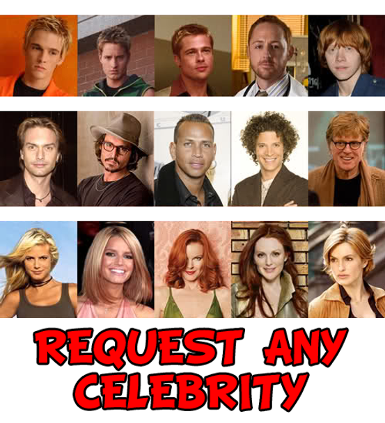 Request Any Celebrity Facemask