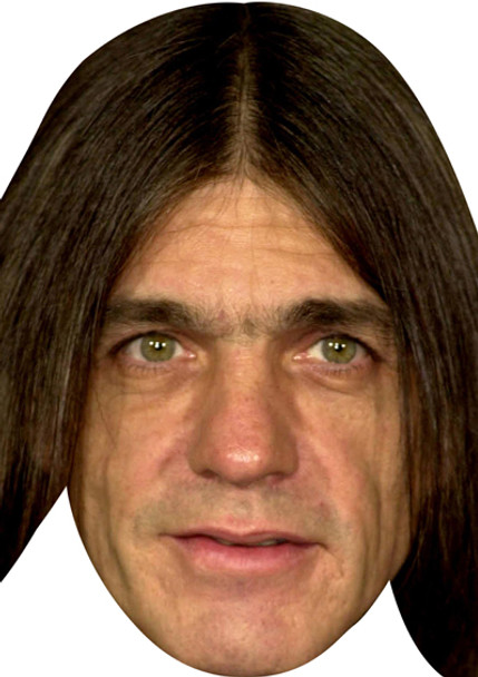 Acdc Malcolm Young Celebrity Face Mask