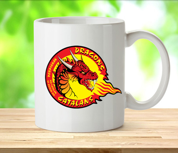 Premier League Rugby Catalan Dragons Supporters Mug