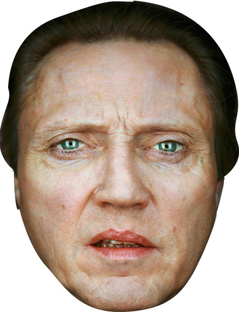 Christopher Walken Celebrity Face Mask
