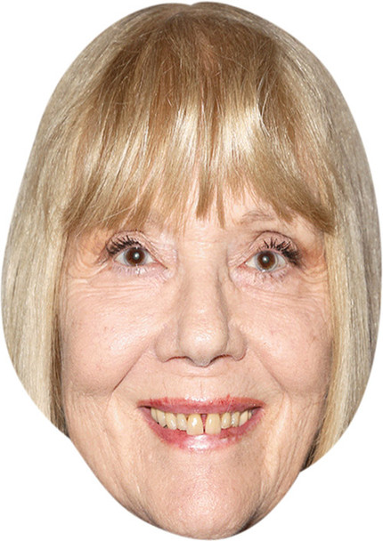 Diana Rigg MH 2018 Celebrity Face Mask