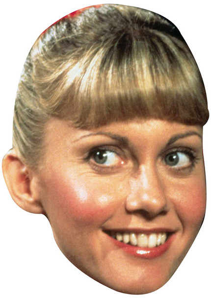 Grease Sandy2 Celebrity Face Mask