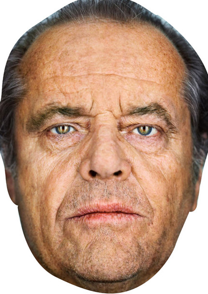 Jack Nicholson Celebrity Face Mask