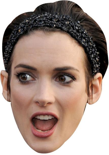 Winona Ryder Celebrity Face Mask