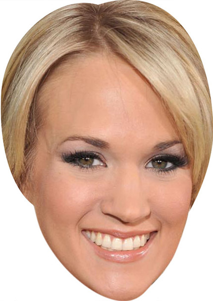 Carrie Underwood MH 2018 Music Celebrity Face Mask