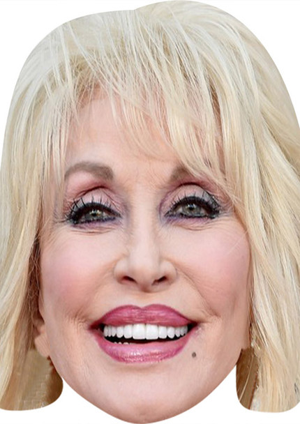 Dolly Parton MH 2018 Music Celebrity Face Mask