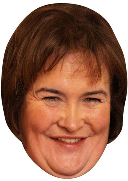 Susan Boyle 2018 2018 Music Celebrity Face Mask