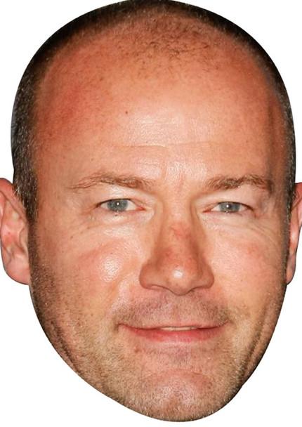 Alan Shearer 2018 Sports Celebrity Face Mask