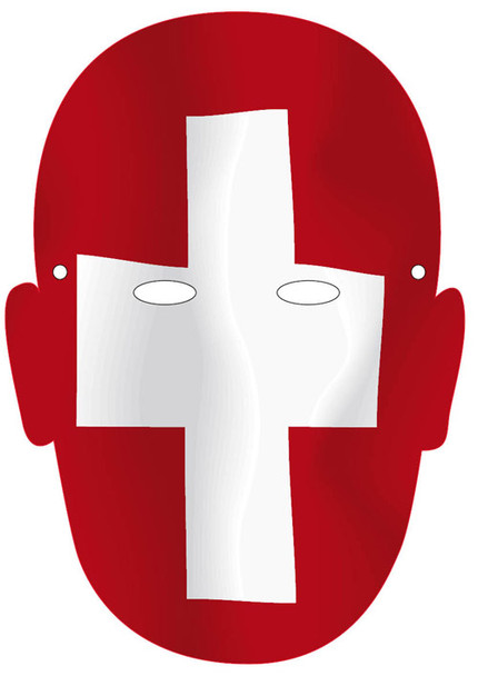 Switzerland 2018 Sports Celebrity Face Mask