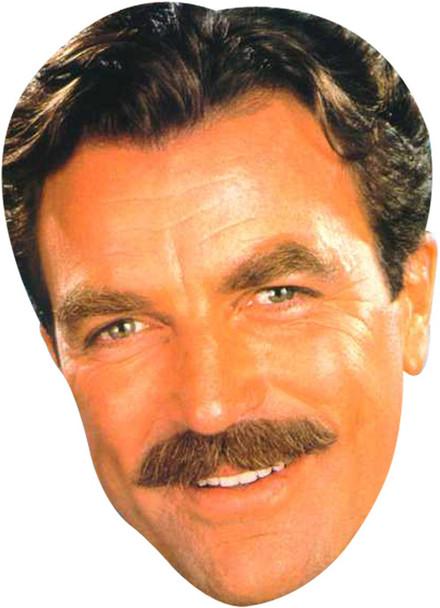 Tom Selleck 80s 2018 Tv Celebrity Face Mask