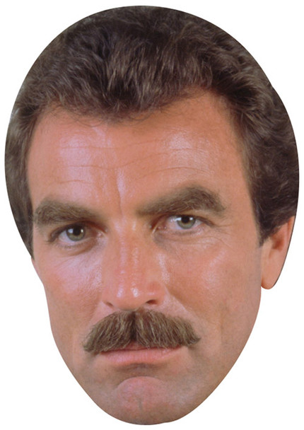 Tom Selleck Young 2 2018 Tv Celebrity Face Mask