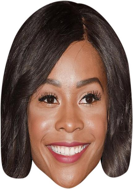 Zuri Hall 2018 Tv Celebrity Face Mask