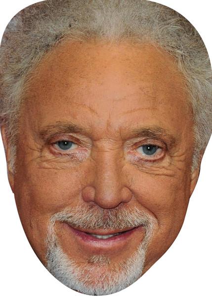 Tom Jones 2018 Celebrity Party Face Mask