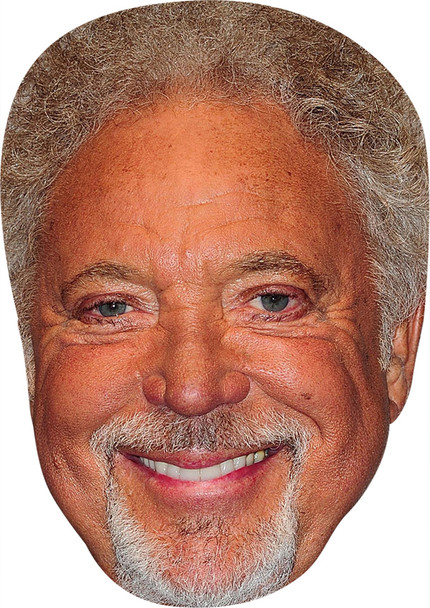 Tom Jones Sj2 Celebrity Party Face Mask