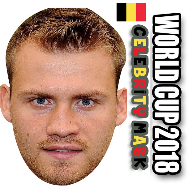 Simon Mignolet Belgium Football World Cup 2018 Face Mask