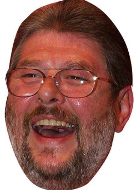 Martin Wolfie Adams Lakeside Darts Face Mask