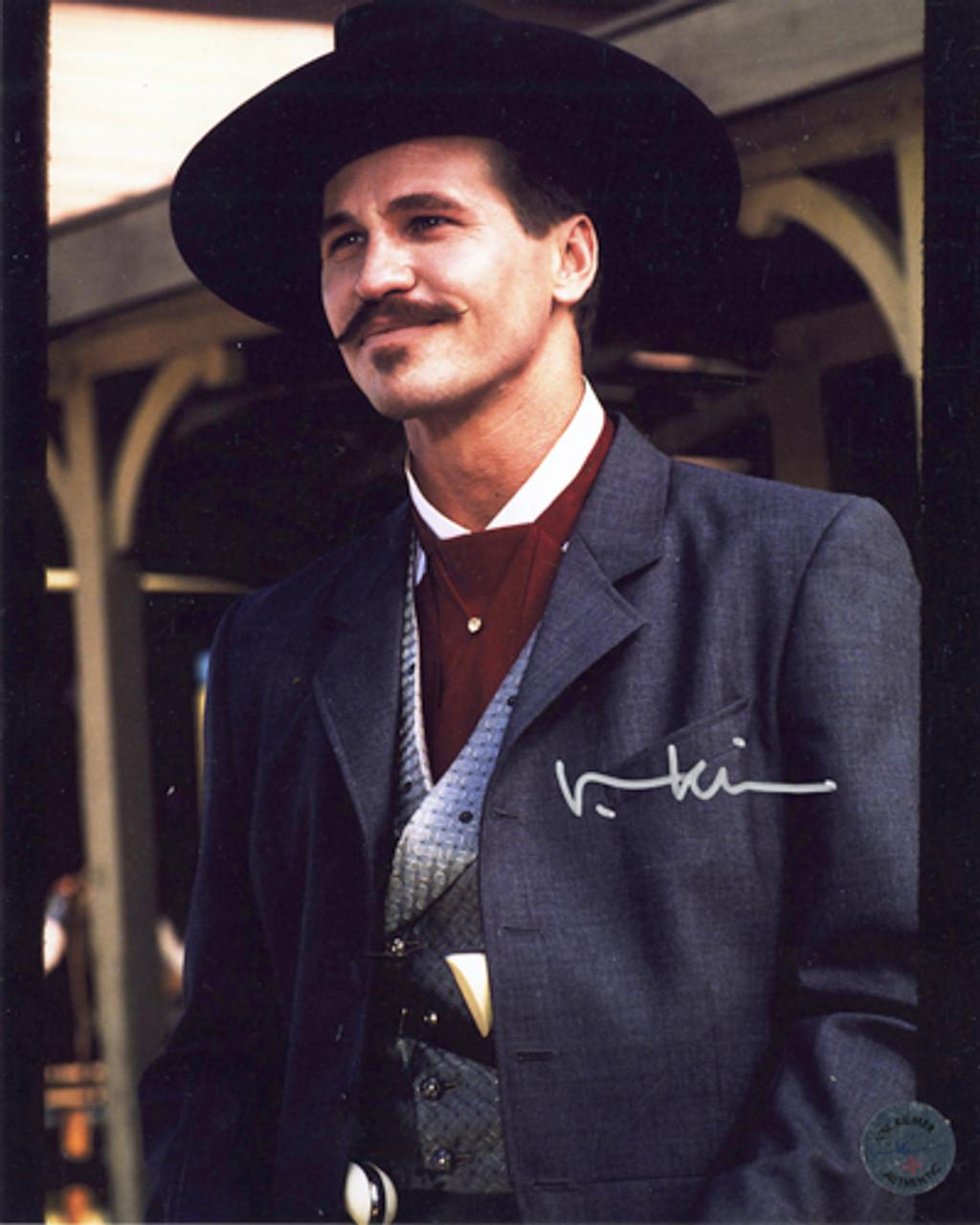 doc holliday autographed photo 2 val kilmer