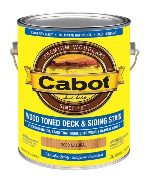 Cabot Wood Toned Deck & Siding Stain Gallon