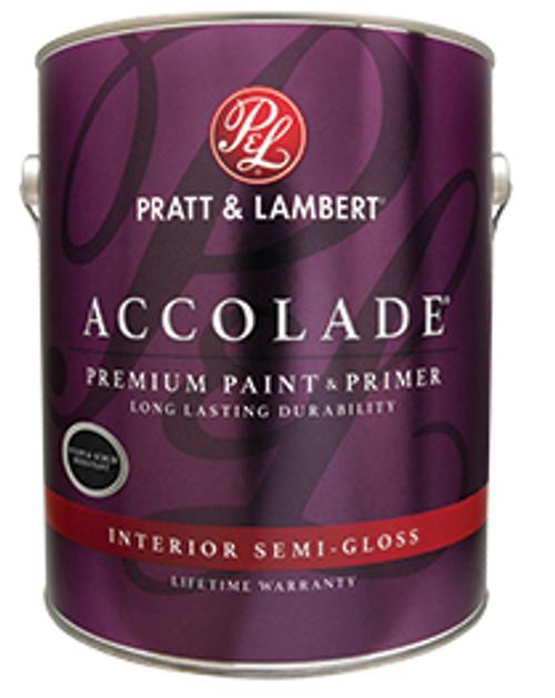 Pratt & Lambert Premium Accolade Interior Acrylic Latex Semi-Gloss Gallon