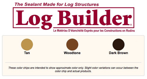 Sashco Log Builder Caulk 29  oz (Case of 10)