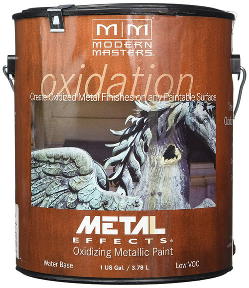 Modern Masters Metal Effects Oxidizing Iron Paint Gallon