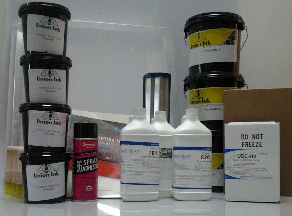 Deluxe Screen Printing Introduction Kit