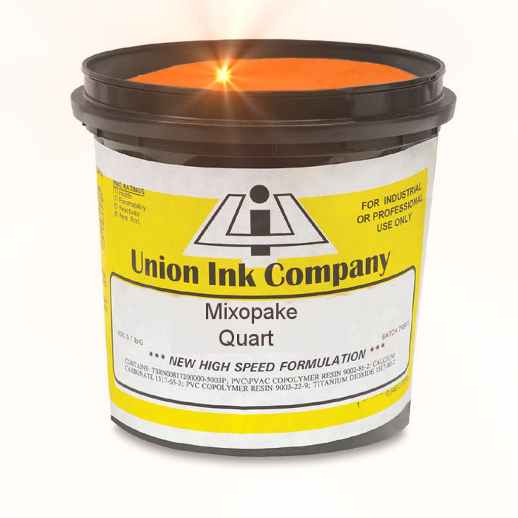 Mixopake Fluorescent Flame Orange - Quart