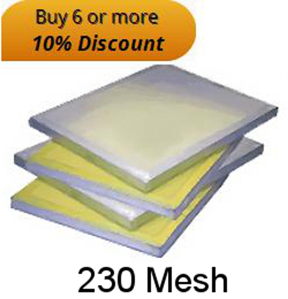 """230 Mesh 23"""" X 31"""" Aluminium Screen"""